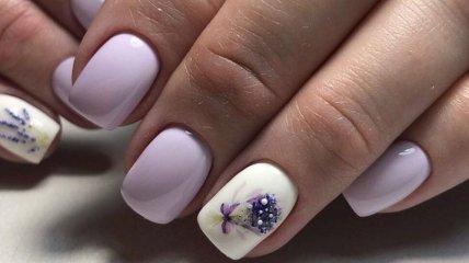 Маникюр 2020: стильные идеи белого дизайна на короткие ногти (Фото)