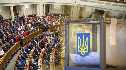 """В Раду проходят пять партий: наибольший рейтинг - у """"Слуги народа"""" и ОПЗЖ, - опрос КМИС"""