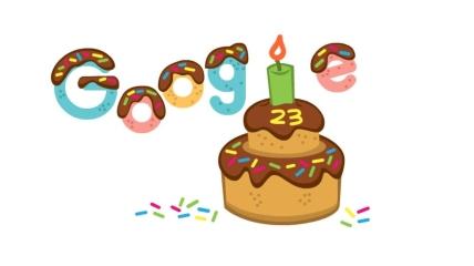 Google отмечает свой день рождение