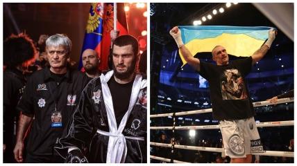 Артур Бетербиев и Александр Усик