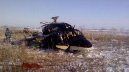 Под Ростовом упал вертолет, двое травмированы