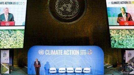 """""""Природа разозлилась"""": генсек ООН открыл климатический саммит (Фото)"""
