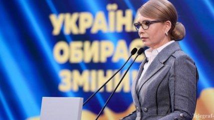 Выборы президента: Тимошенко обвинила Порошенко в фальсификации