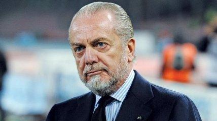 Президент Наполи: Наш тренер и игроки проделали хорошую работу