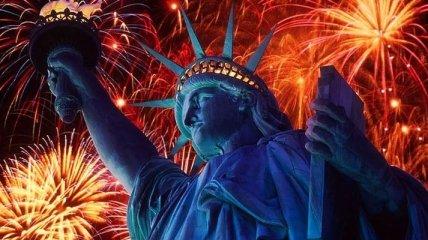 Как ньюйоркцы отметили Новый Год? (Фото)
