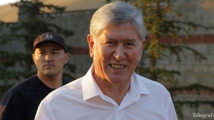 Бывшего президента Кыргызстана Атамбаева поместили в СИЗО
