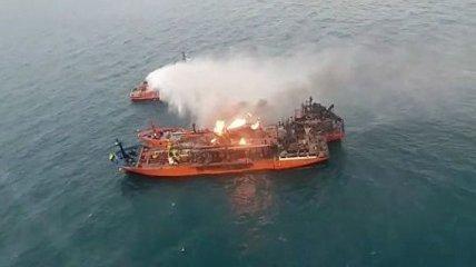 10 членов экипажа, горевших в Керченском проливе танкеров, до сих пор не найдены
