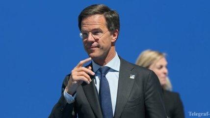 Рютте: 30 мая Сенат Нидерландов поддержит соглашение Украина-ЕС