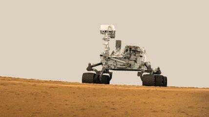 Марсоход Curiosity cделал новые снимки марсианских дюн