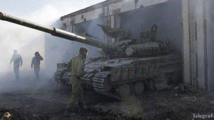 Силы АТО завершили отвод танков на донецком направлении