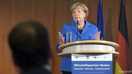 Рейтинг партии Меркель упал до трехлетнего минимума