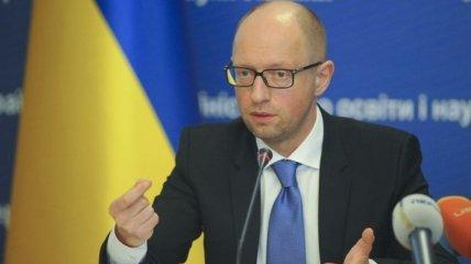 Яценюк сообщил, на сколько экономика Украины зависит от РФ