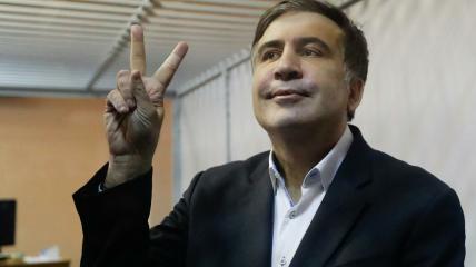 Саакашвили якобы пересек границу в прицепе