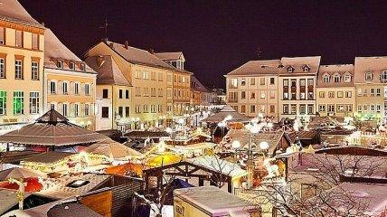 Увлекательная прогулка по рождественскому базару в Германии (Фото)