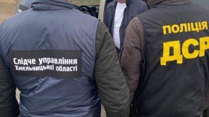 На Хмельнитчине за взятку задержан председатель ОТГ