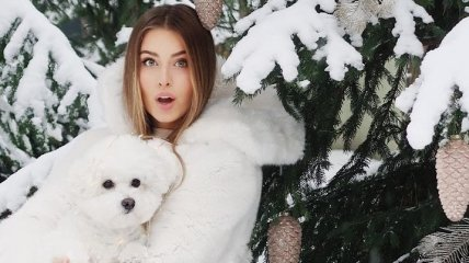 Внучка Софии Ротару снялась в роскошной зимней фотосессии