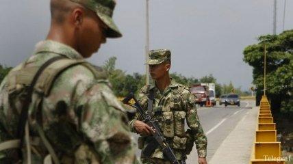 ВВС Колумбии нанесли удар по позициям ФАРК