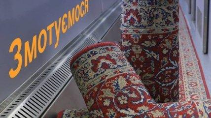 """Уходит эпоха: """"Укрзализныця"""" отказывается от ковров в вагонах"""