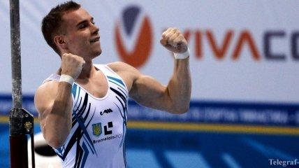 Украинец Верняев стал чемпионом Европы в упражнениях на брусьях