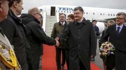 Порошенко проведет ряд встреч во время визита в Германию