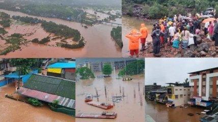 Наводнение в Индии лишило жизни по меньшей мере 138 человек (видео)