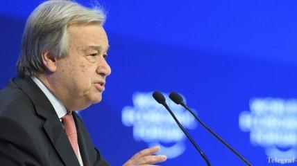 Генсек ООН не верит в быстрое урегулирование сирийского конфликта