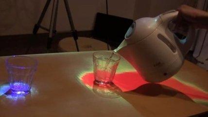 Разработан стол, который отображает температуру блюд (Видео)