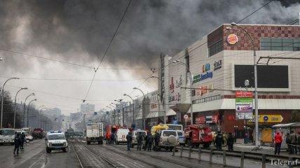 "В Кемерово начали демонтаж сгоревшего ТЦ ""Зимняя вишня"""