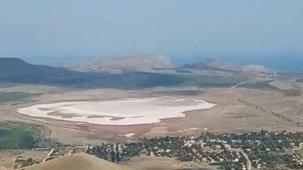 Из Коктебельского водохранилища в Крыму исчезла вода: эксклюзивные фото