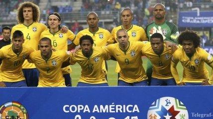 Отбор ЧМ-2018. Заявка Бразилии на весенние матчи
