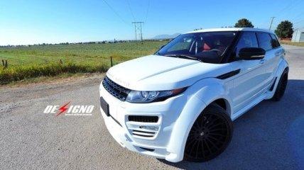 Брутальный кроссовер Range Rover Evoque