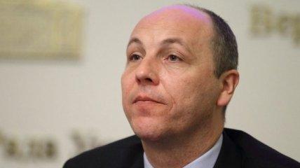 Парубий: Выборы на Донбассе возможны после выполнения Минска