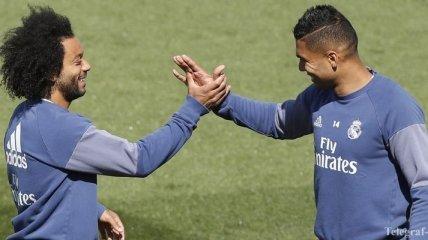 """Игрок """"Реала"""" Каземиро очень лестно высказался в адрес Марсело"""