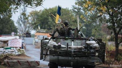 Боевики обстреливали силы АТО в Гранитном, Счастье и Лозовом