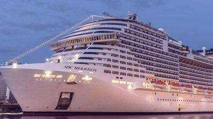 Роскошь на миллиард долларов: крупнейший в Европе круизный лайнер MSC Meraviglia