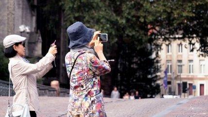В Украине увеличивается поток иностранных туристов