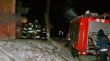 В Тернополе на Сочельник произошел пожар