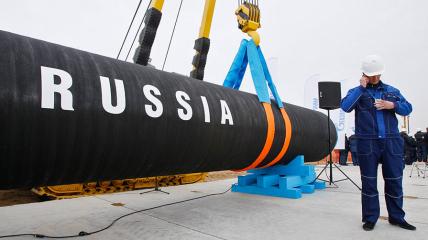 Газопровод из России в Германию готов на 100%