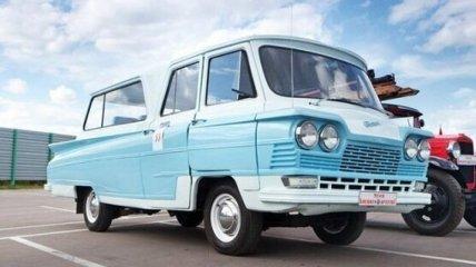 В Сети показали фото уникального советского микроавтобуса (Фото)