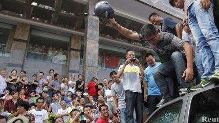 """Тысячи китайцев вышли на """"экологический"""" протест"""