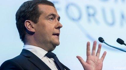 Медведев не боится за российский газ