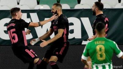 Помилка Куртуа і феноменальна розв'язка: огляд матчу Бетіс - Реал (Відео)