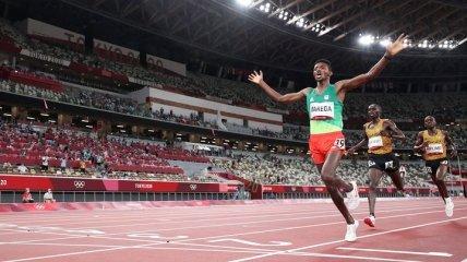 """Первое """"золото"""" в легкой атлетике на Олимпиаде выиграл эфиоп"""
