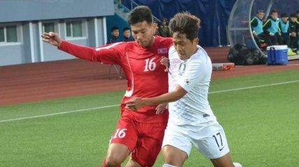 Историческое событие: Северная и Южная Корея сыграли матч в Пхеньяне (Фото)