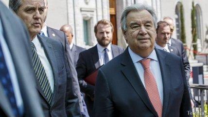 Генсек ООН пожелал успехов Зеленскому на посту президента Украины