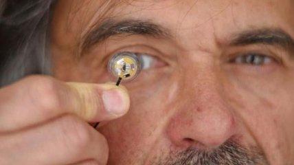 Дополненная реальность вскоре может появиться и в контактных линзах
