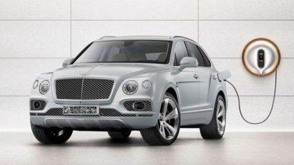 Bentley анонсировала премиальный гибрид Bentayga