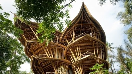 Очаровательные бамбуковые дома от Элоры Харди (Фото)