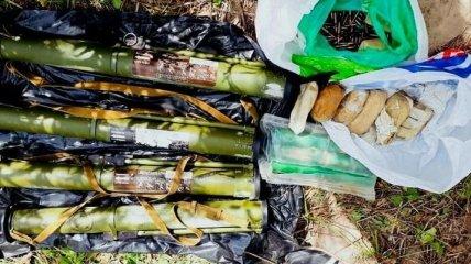 Полиция выясняет принадлежность оружия найденного в Киеве