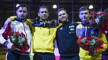 Украинский шпажист выиграл этап Кубка мира по фехтованию